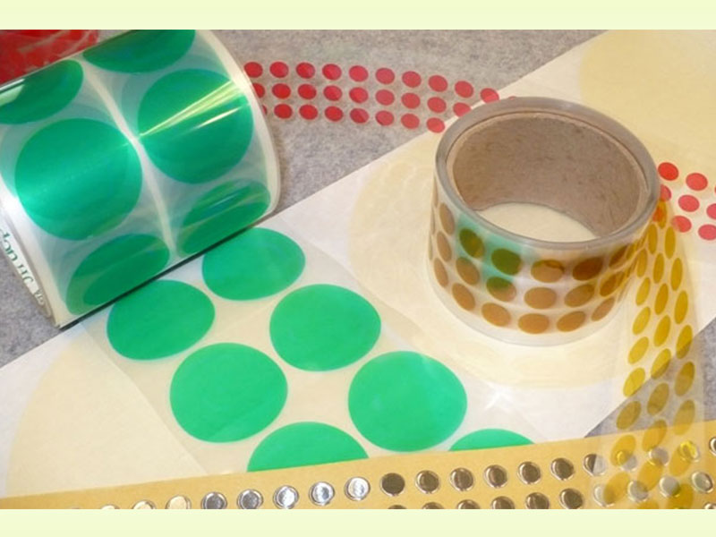 Green Polyester Die Cuts